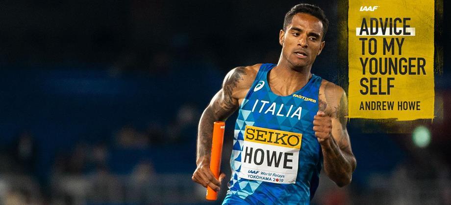Italy's Andrew Howe in action at the IAAF World Relays Yokohama 2019 (Dan Vernon)