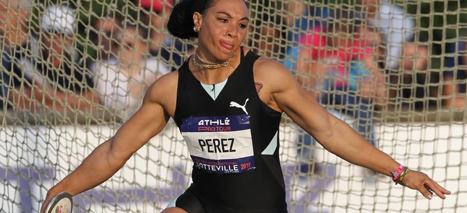 Yaime Perez improves to 69.39m in Sotteville les Rouen (Jean Pierre Durand)