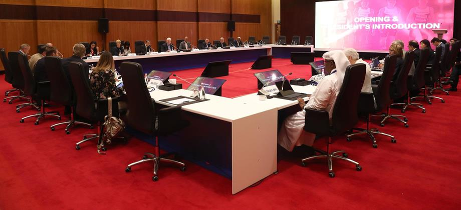 The 219th IAAF Council Meeting in Doha (Getty Images)