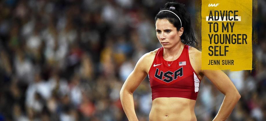 US pole vaulter Jenn Suhr  (AFP / Getty Images)