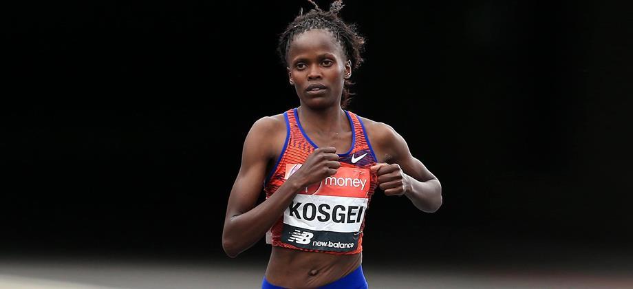 Kenyan distance runner Brigid Kosgei (Getty Images)