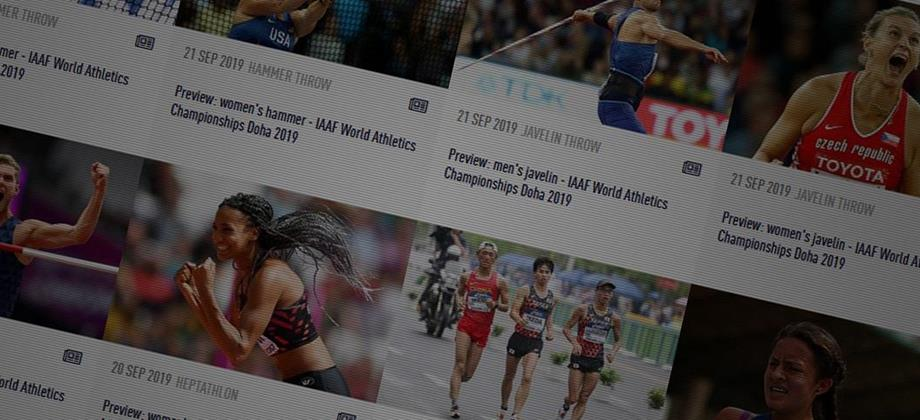 World Championships previews (IAAF)