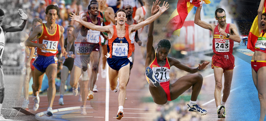 Spanish athletics legends (AFP / Getty Images)