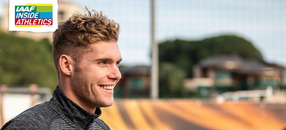 Kevin Mayer on IAAF Inside Athletics (Philippe Fitte)