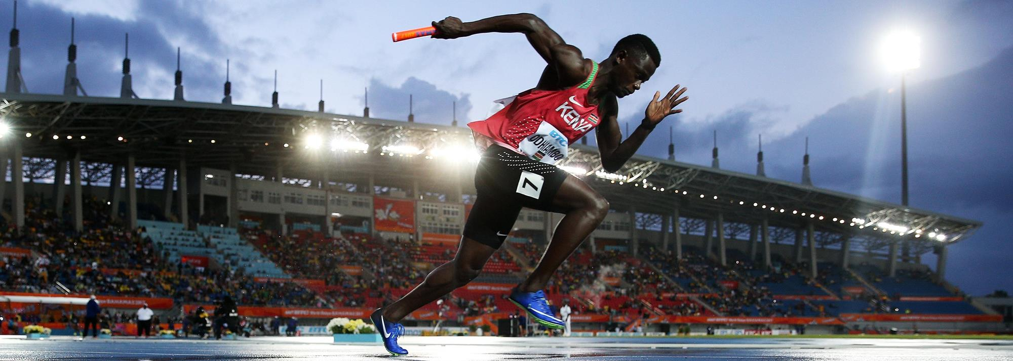 World Athletics | For Kenyan sprinter Odhiambo, lockdown is almost business as usual| News