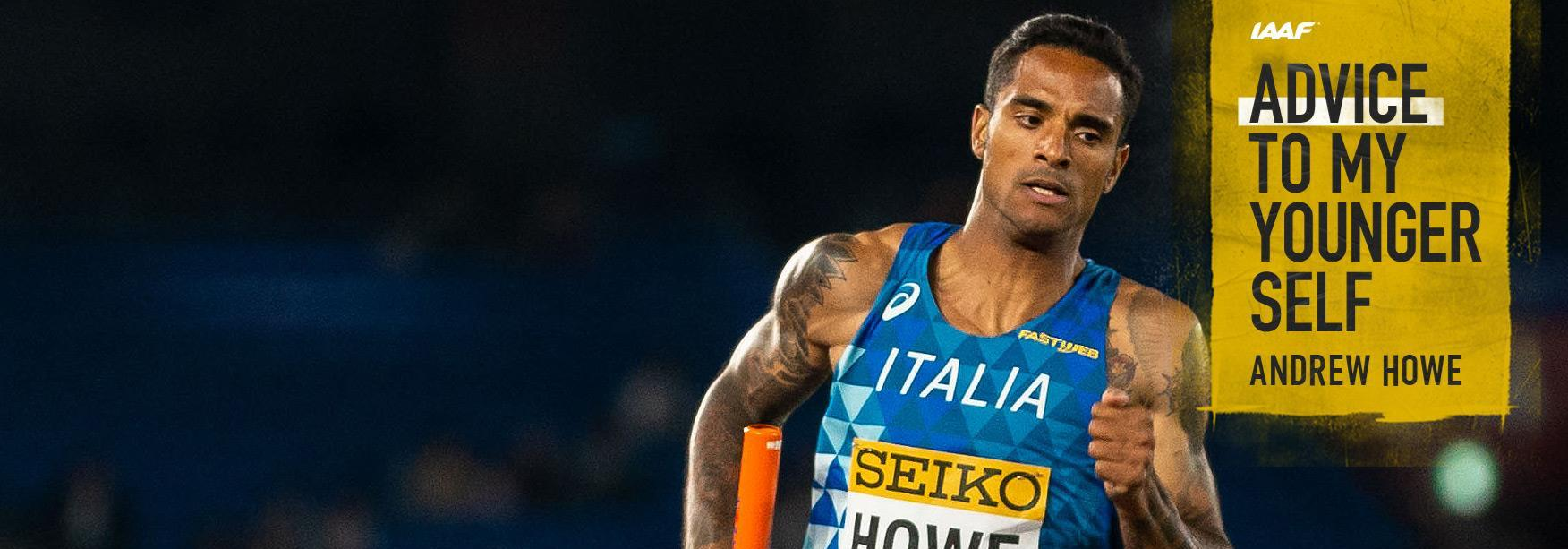 Italy's Andrew Howe in action at the IAAF World Relays Yokohama 2019 (Dan Vernon)