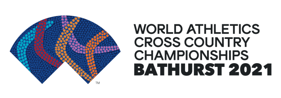 Logo for IAAF World Athletics Cross Country Championships Bathurst 2021