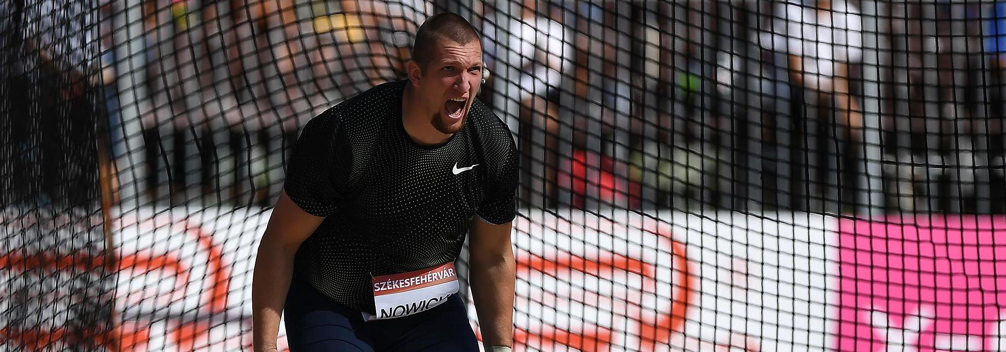 Polish hammer thrower Wojciech Nowicki (AFP / Getty Images)
