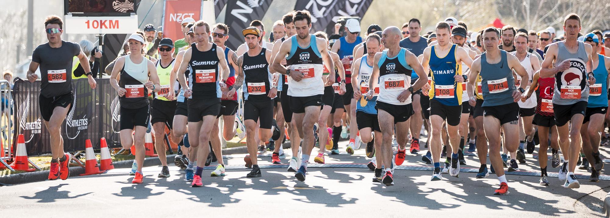 World Athletics   Sparking glimmers of hope, mass racing returns with Rotorua Marathon  News