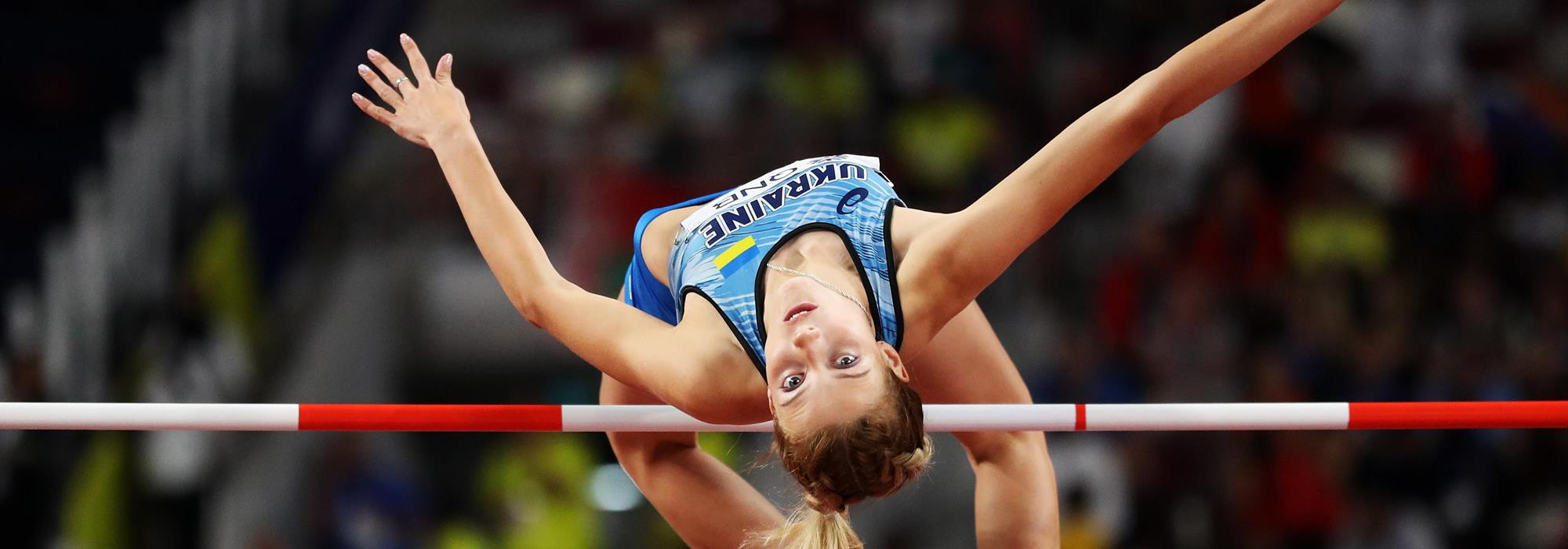 Yaroslava Mahuchikh in action at the IAAF World Athletics Championships Doha 2019 (Getty Images)