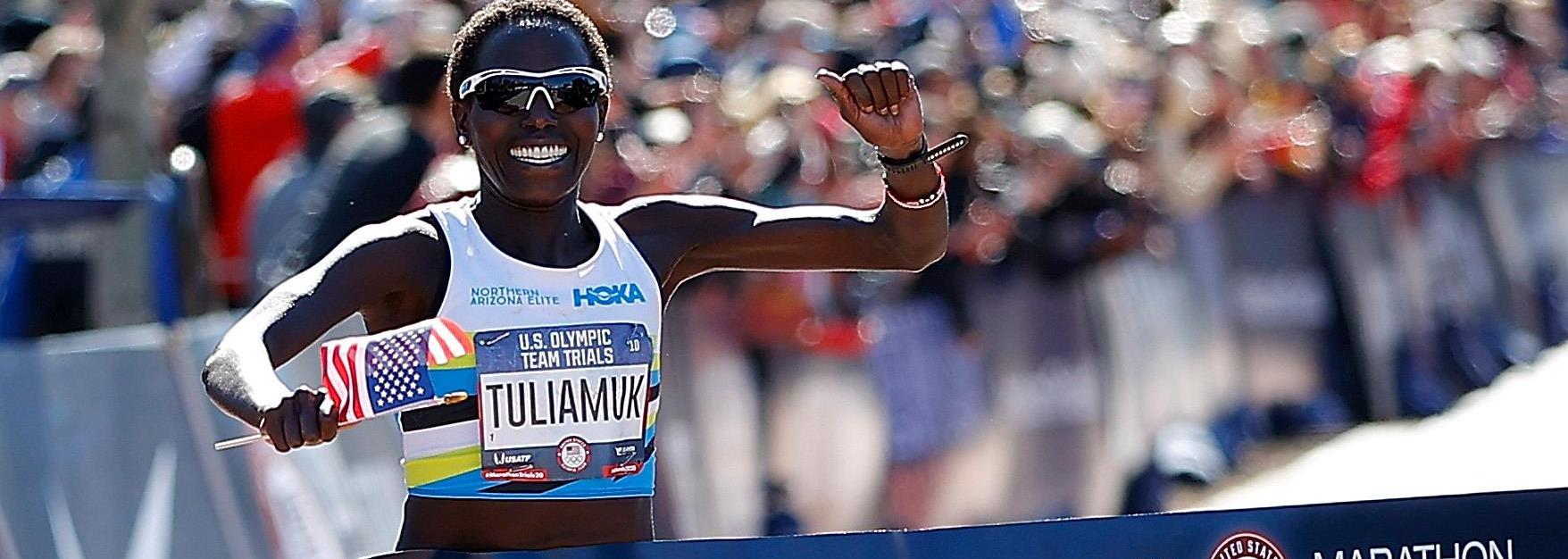 Tuliamuk continues idol Loroupe's running, philanthropic legacy