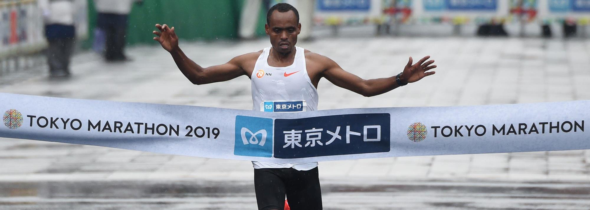 Defending champions Legese and Aga lead Tokyo Marathon elite fields