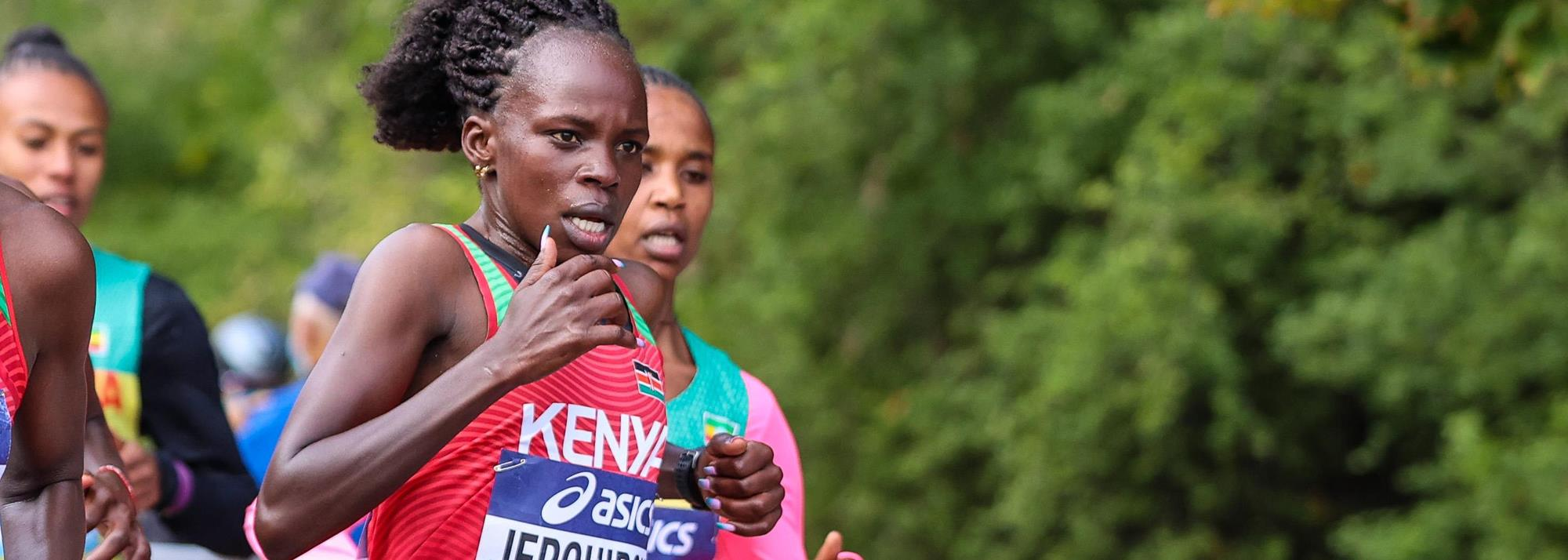 After second global title and third world record, Jepchirchir cements place in history as a half marathon all-time great