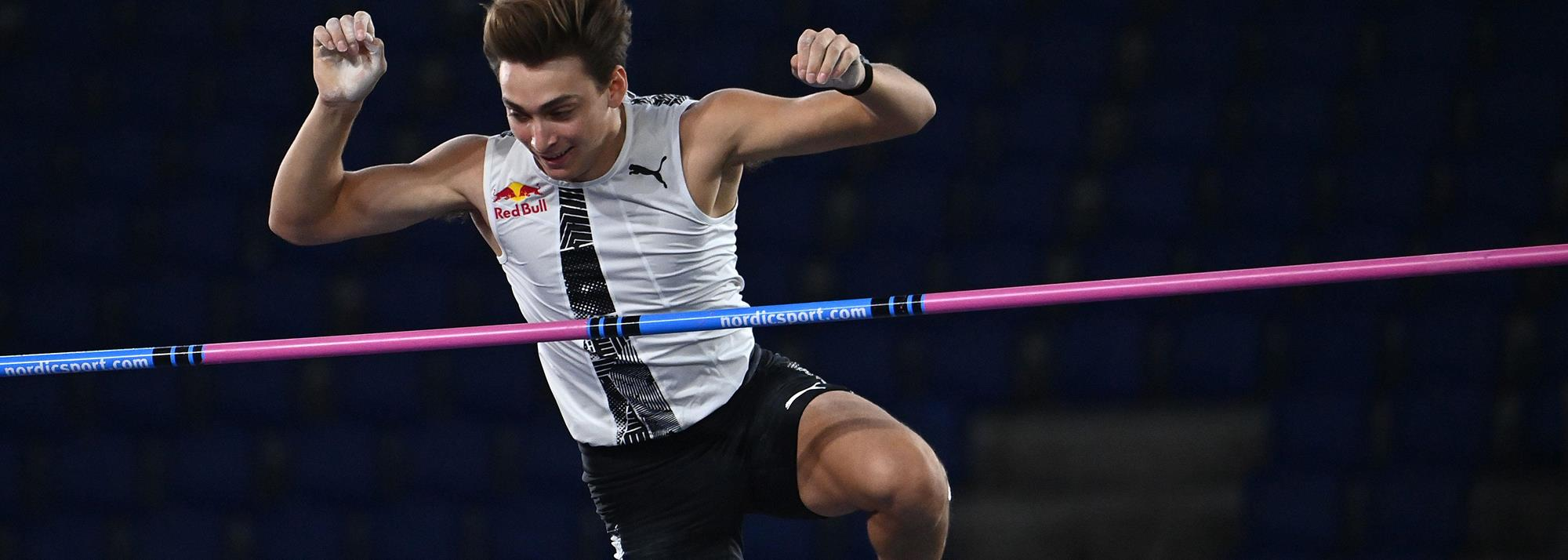 Duplantis scales 6.15m in Rome, world's highest ever outdoor vault