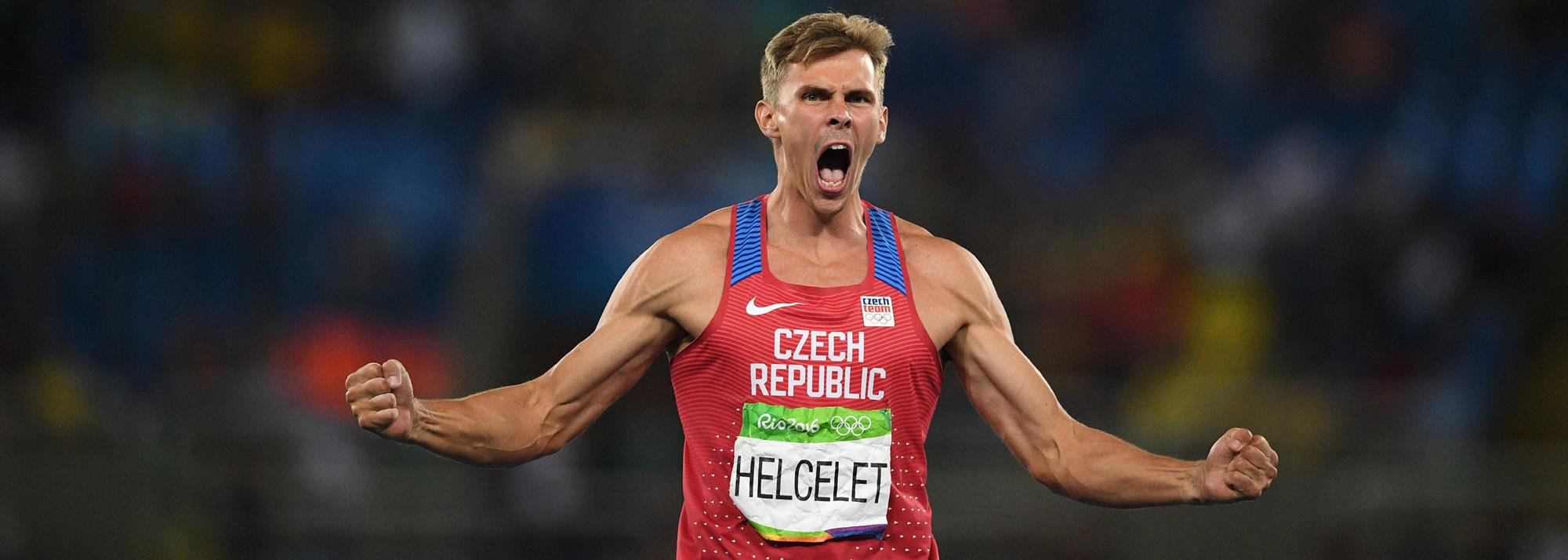 Helcelet: the decathlon's international man of history