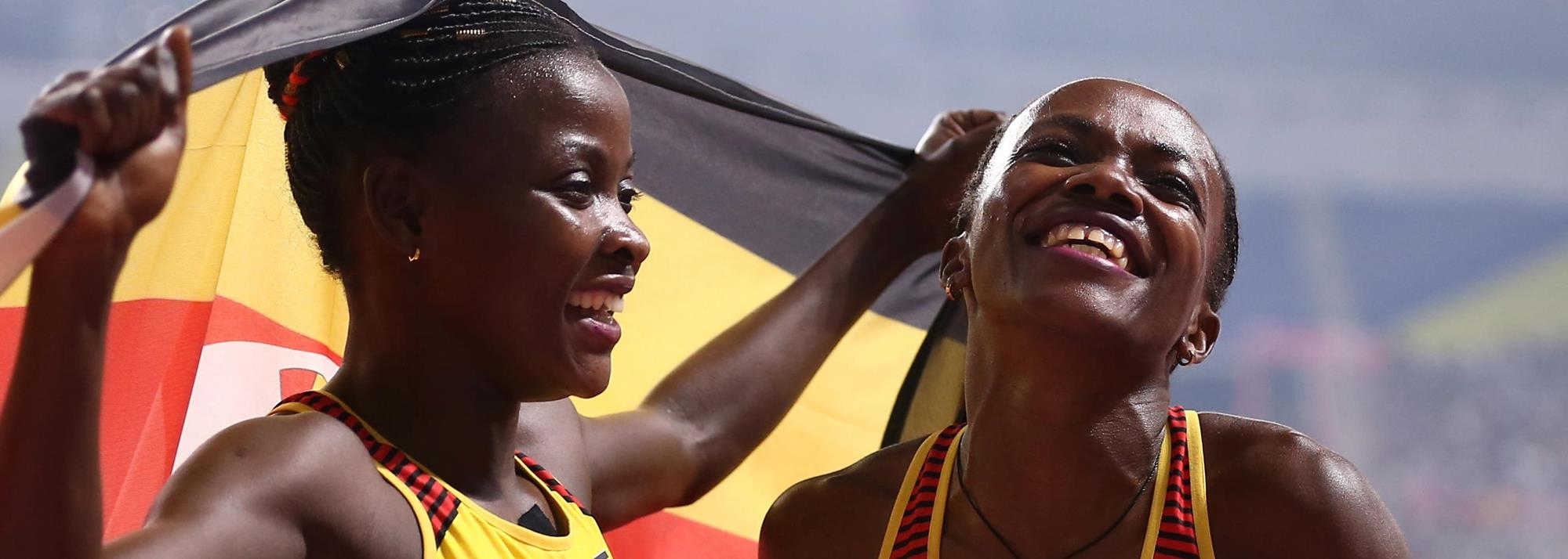 Sharing their successes, Nakaayi and Nanyondo help put Uganda on the athletics map