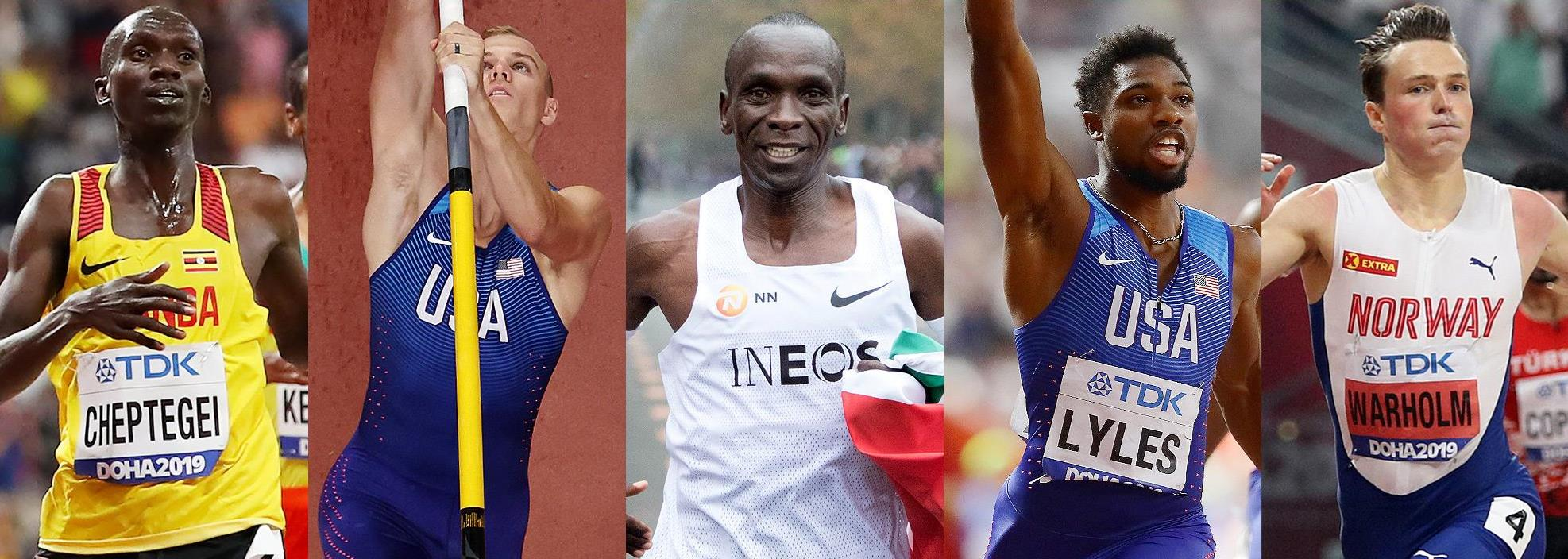 Finalists announced for Male World Athlete of the Year 2019