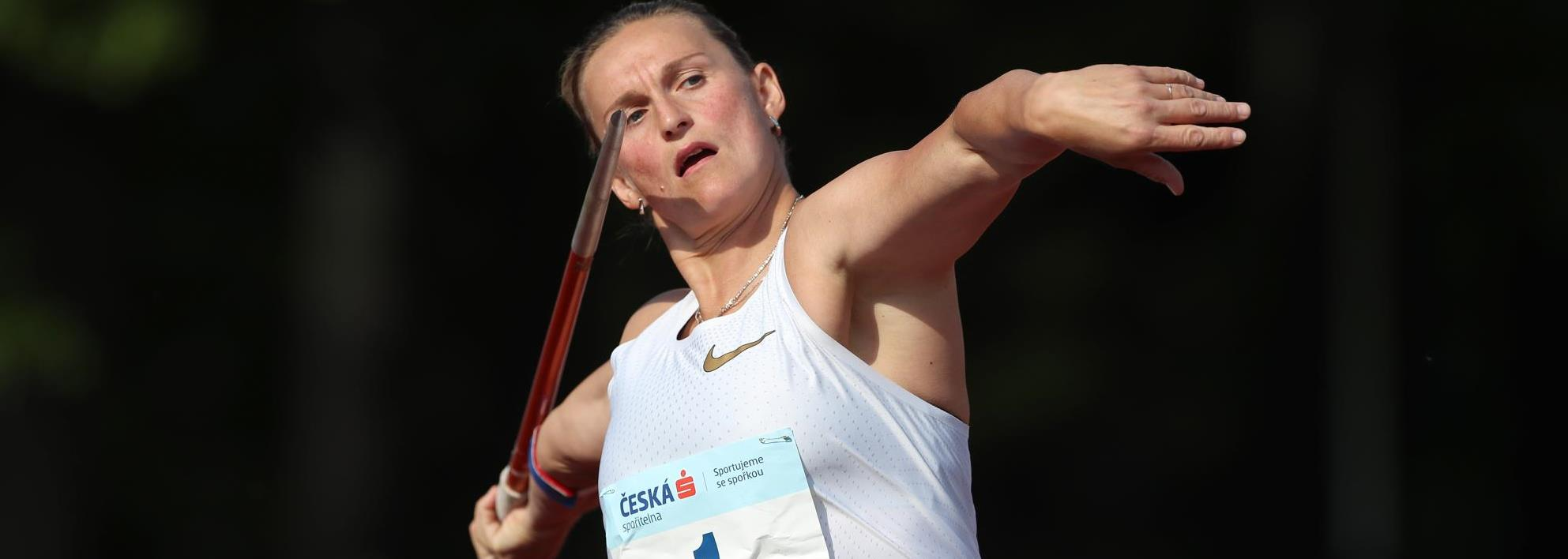 Spotakova wins javelin showdown in Kladno