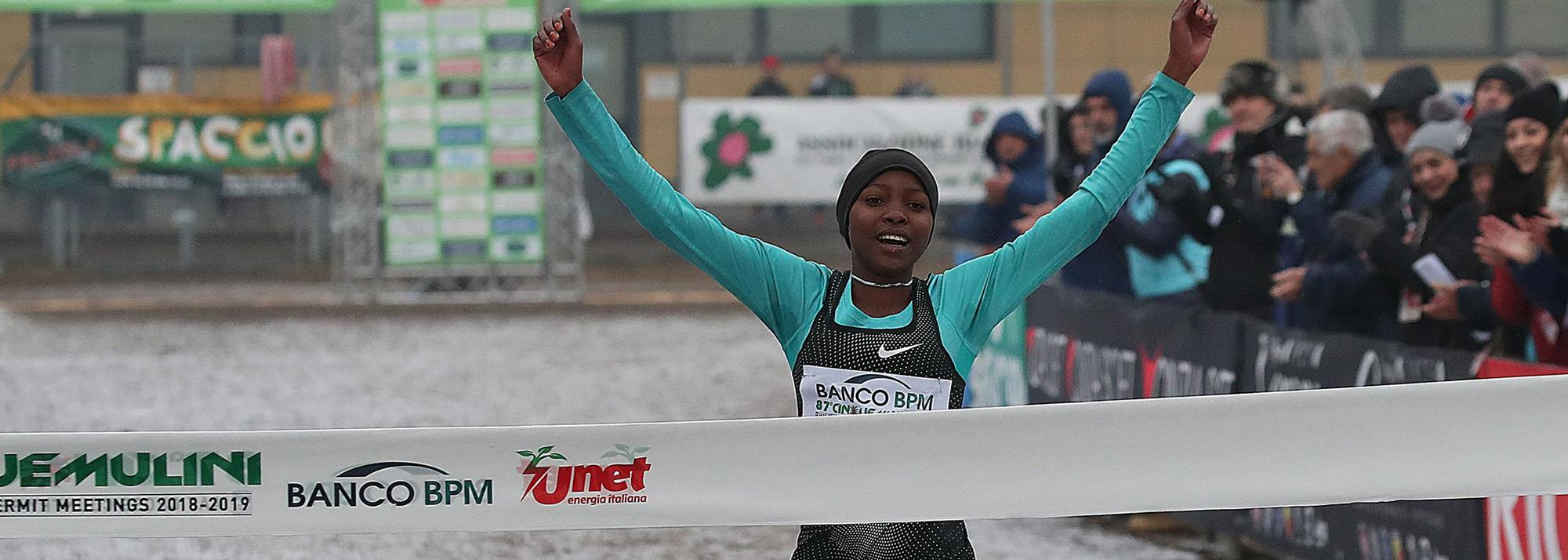Worku and Yavi the favourites at the Cinque Mulini cross country