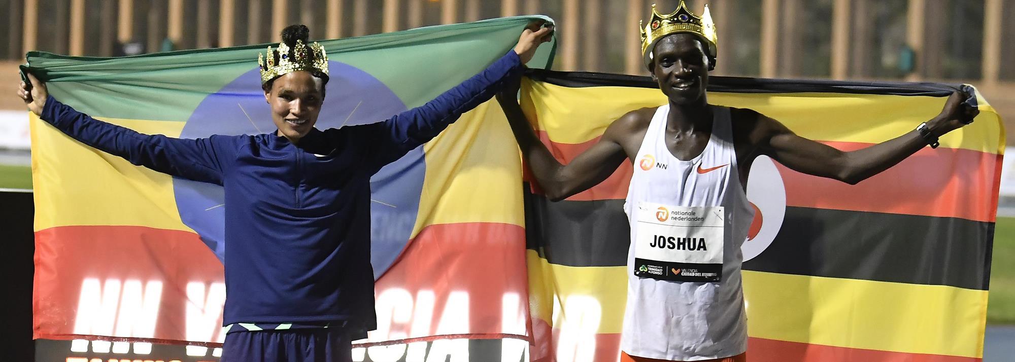 Cheptegei and Gidey break world records in Valencia