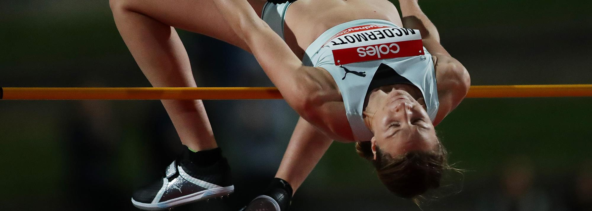 Rising star McDermott: 'High jump was my calling'