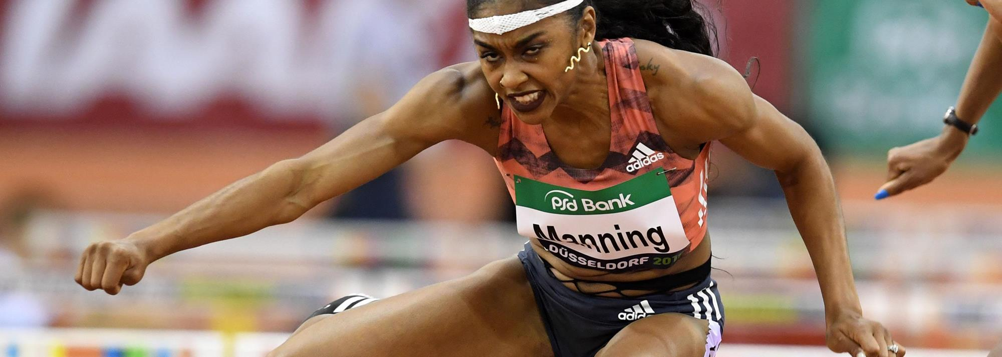 World indoor medallists Clemons and Eaton confirmed for Dusseldorf