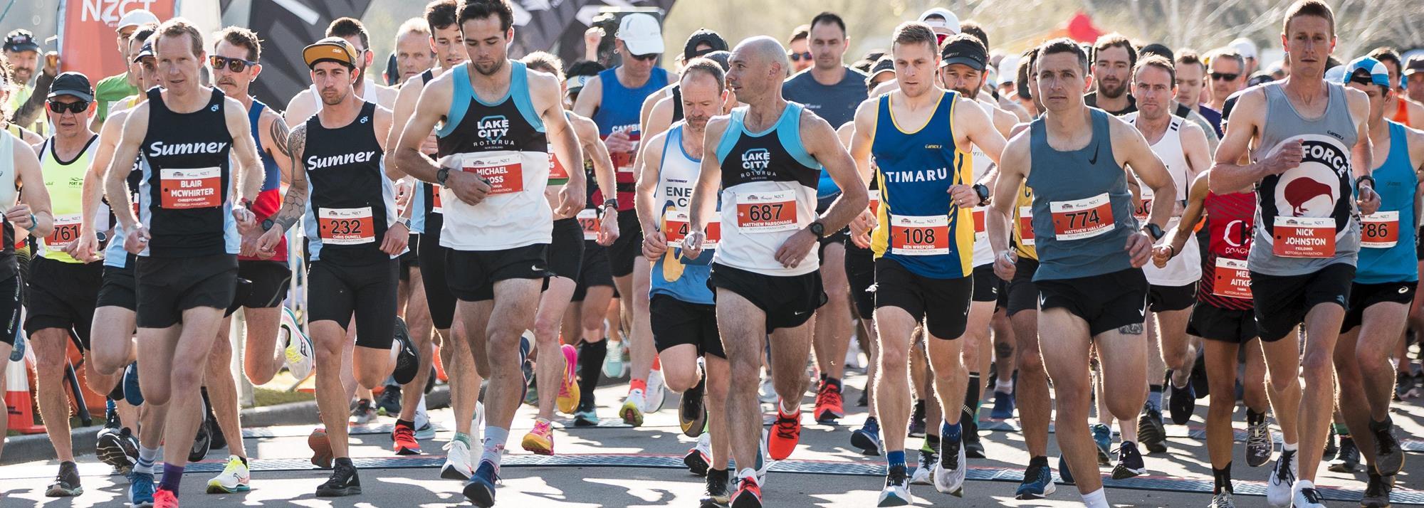 Sparking glimmers of hope, mass racing returns with Rotorua Marathon