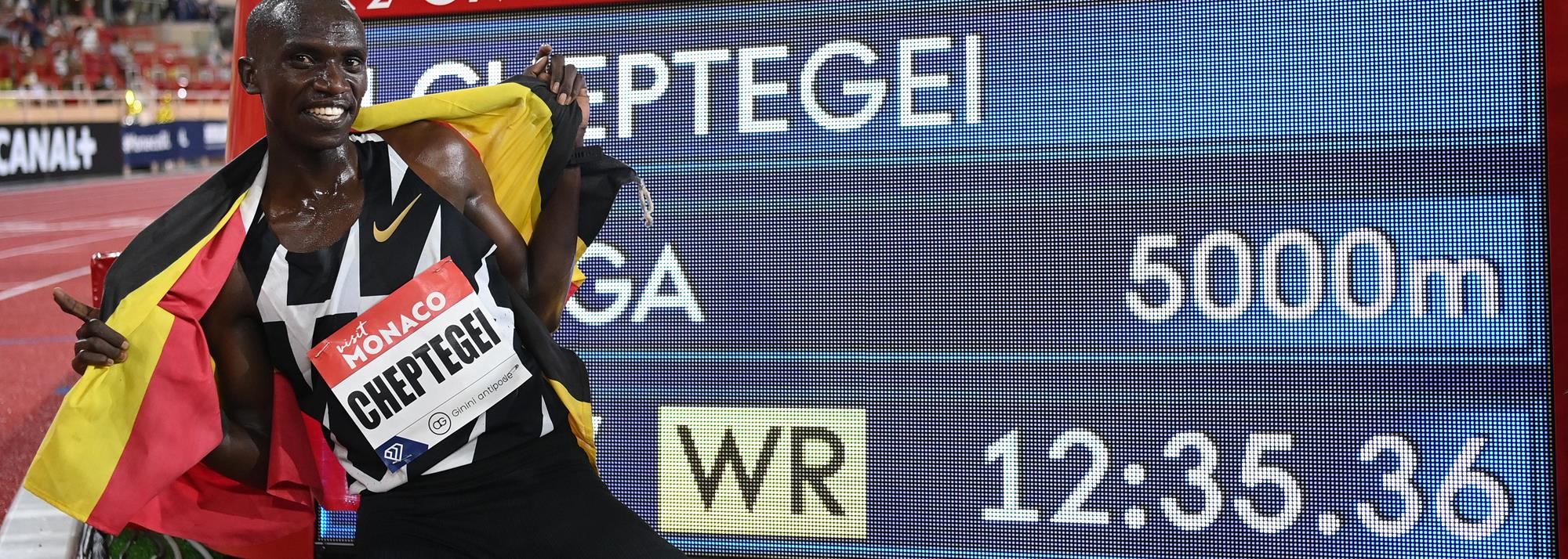 Ratified: Cheptegei's 5000m world record