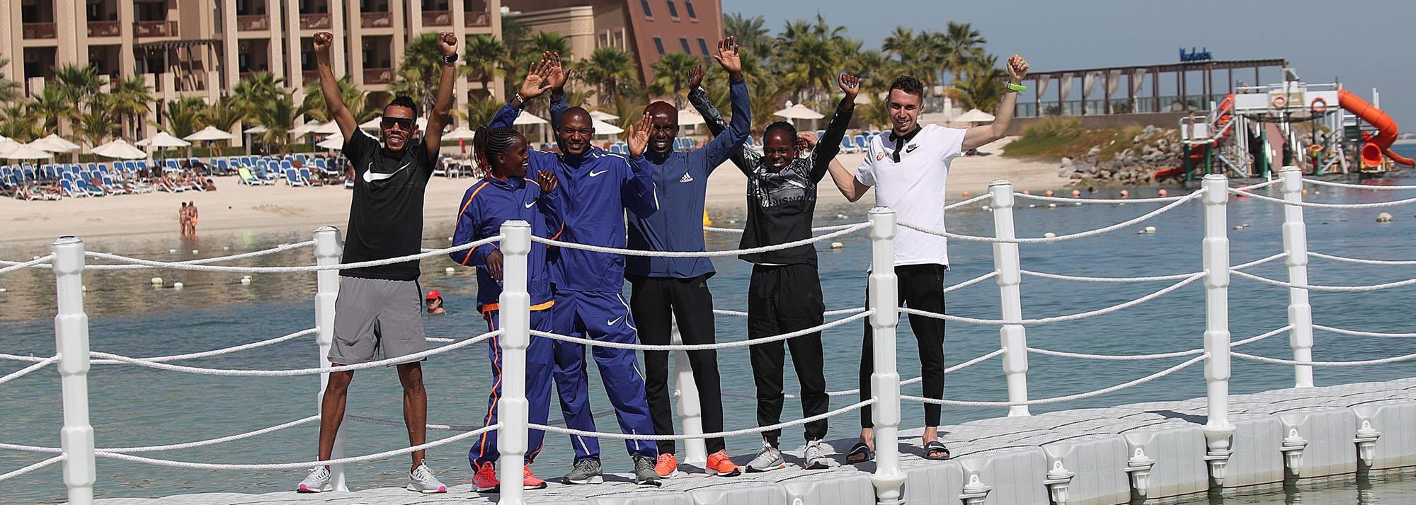 Kosgei targeting fast time at Ras Al Khaimah Half Marathon