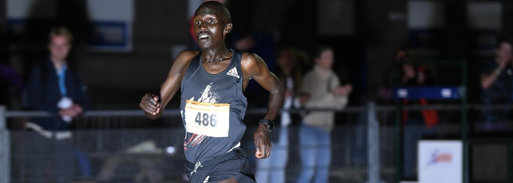 Kimeli clocks 10,000m world lead in Leiden