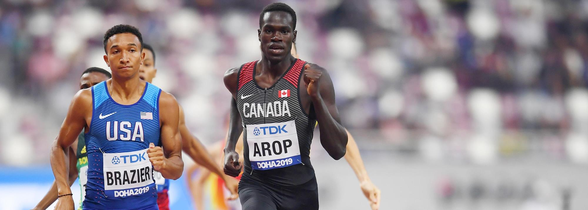Canada's Arop sets sights on Tokyo