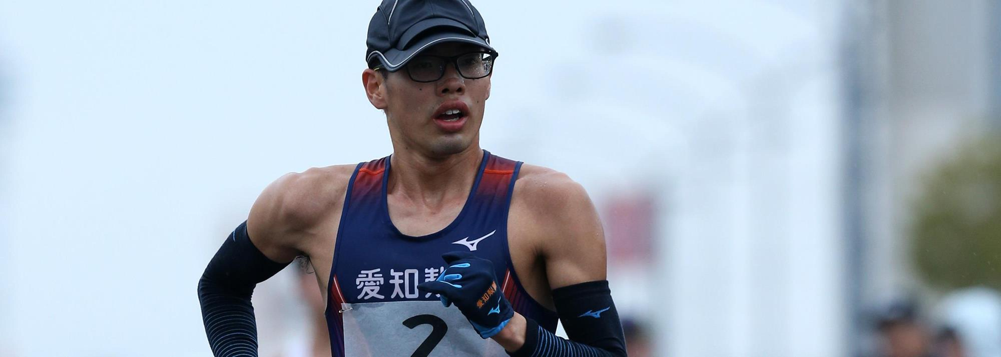 Yamanishi cruises to national 20km title in Kobe, secures Olympic team spot