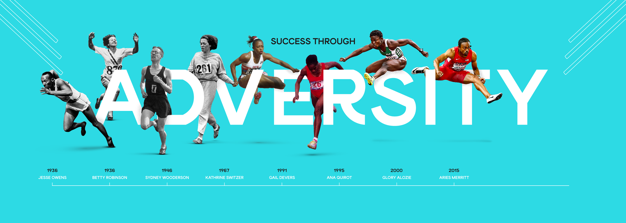 10 of the greatest athletics moments of triumph over adversity