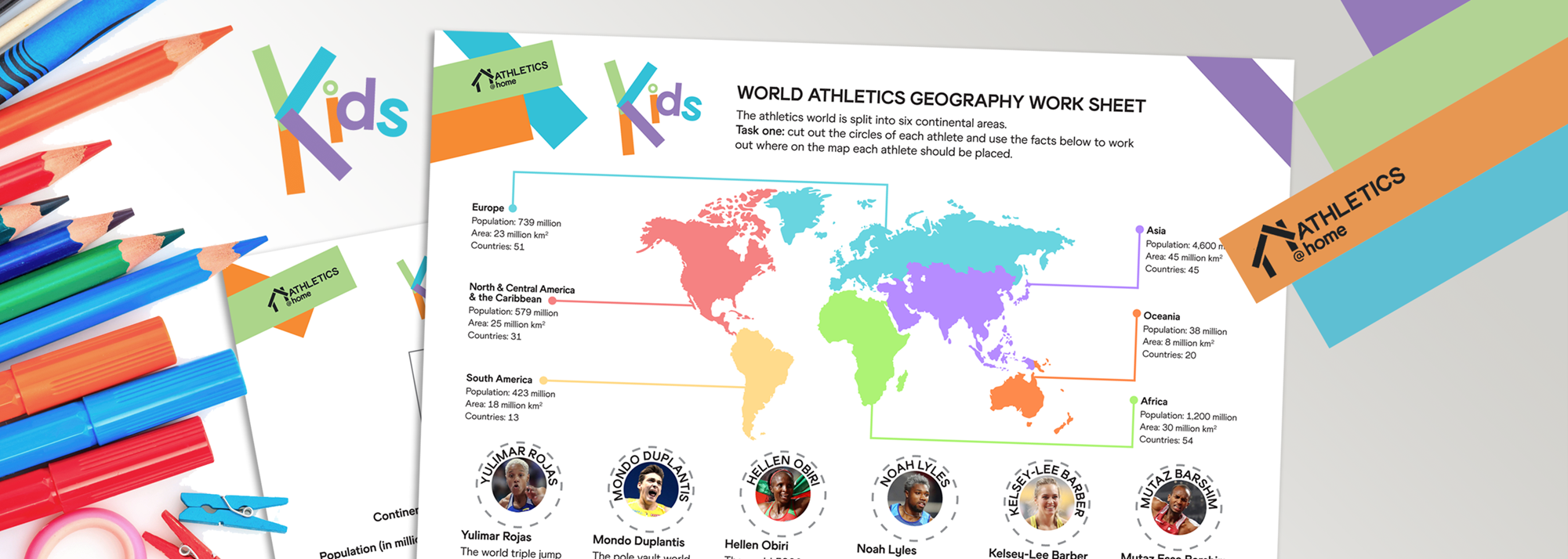 Geography activity for kids
