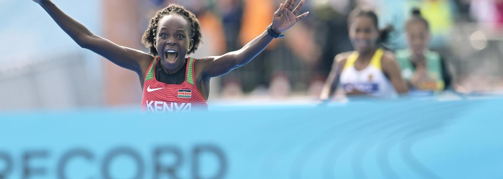 Jepchirchir breaks women-only world record in Gdynia