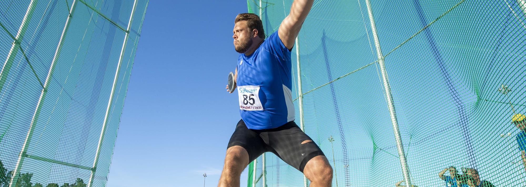 Stahl throws 71.37m in Sollentuna