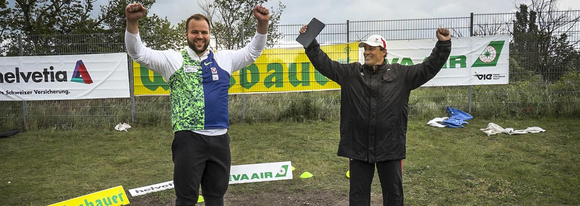 Weisshaidinger throws 68.63m in Schwechat-Rannersdorf