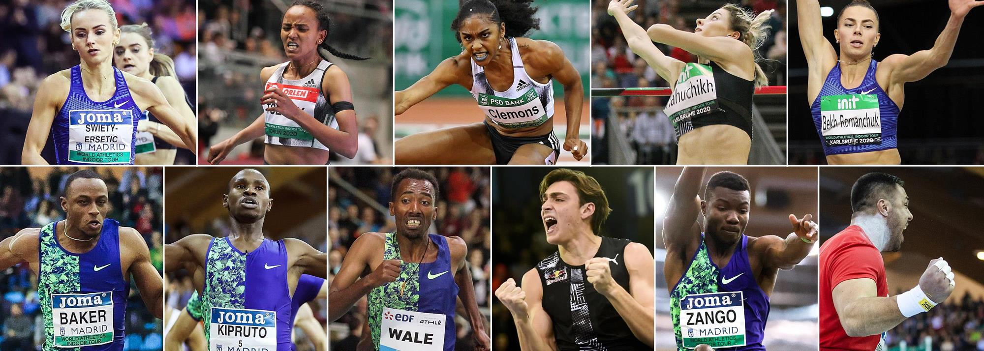 2020 World Athletics Indoor Tour winners secure wildcards for Nanjing