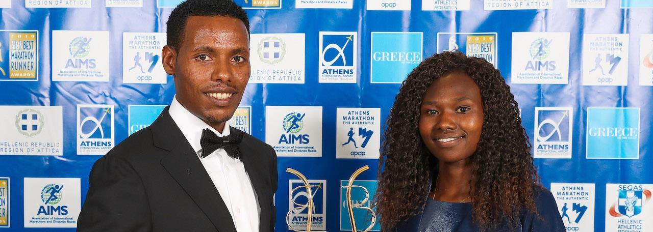 Desisa and Chepngetich win 2019 AIMS Best Marathon Runner Awards