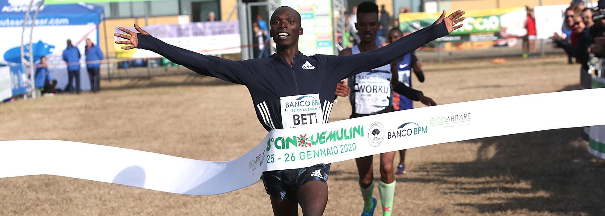 Bett and Yavi claim Cinque Mulini victories