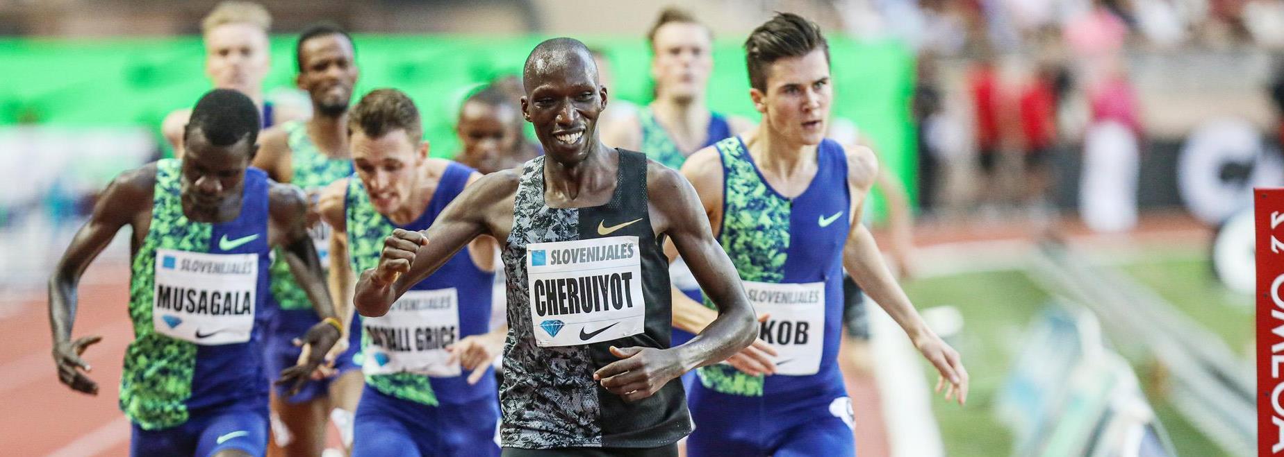 Team Ingebrigtsen takes on Team Cheruiyot in Oslo's Impossible Games