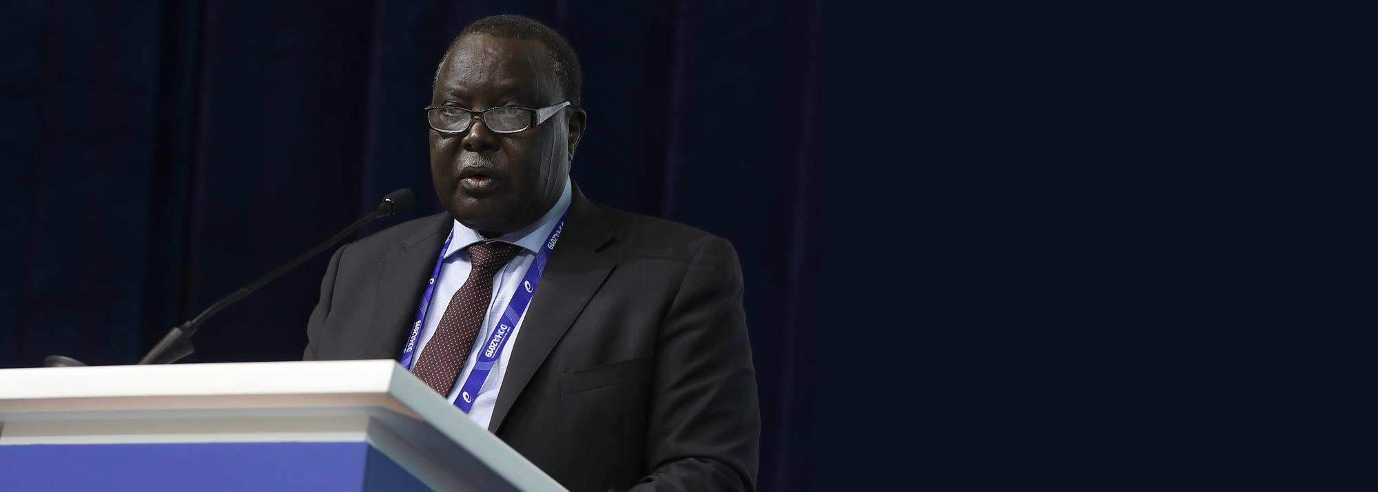 CAA President Kalkaba Malboum: 'We're working to ensure that athletics in Africa can survive similar disasters in future'