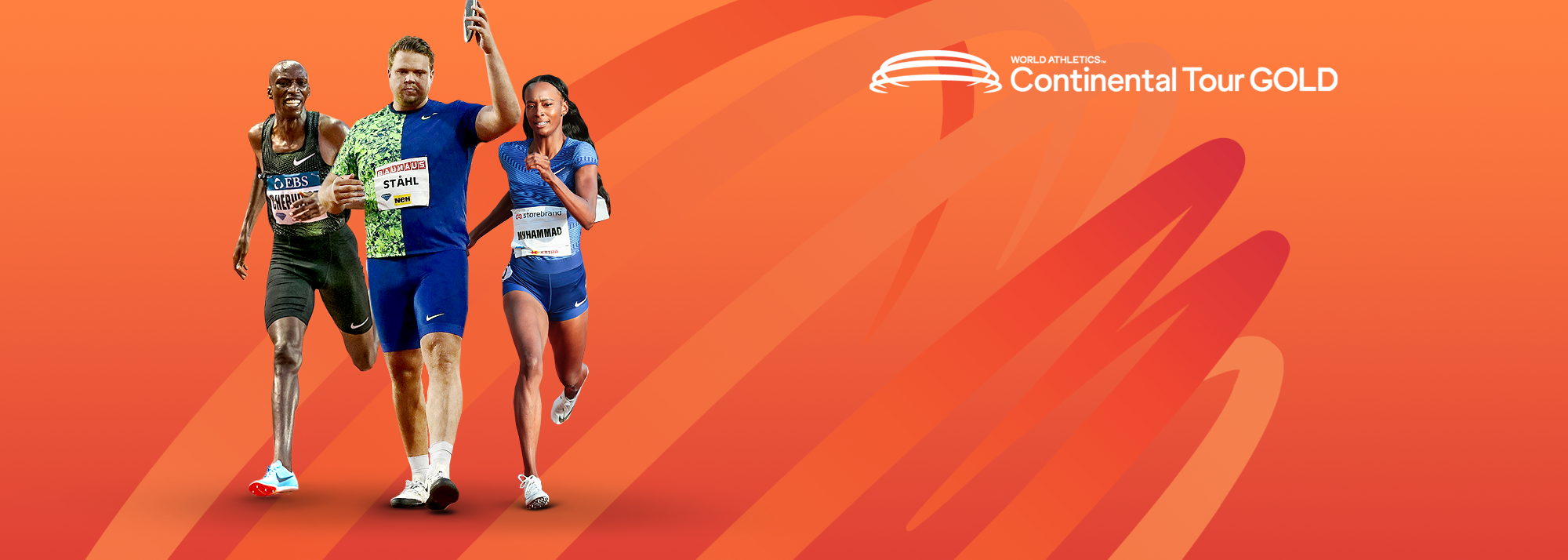Follow all the World Athletics Continental Tour Gold action during 2020