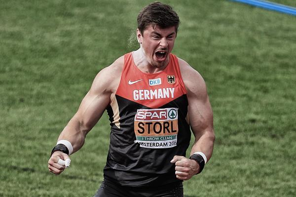 David Storl, European shot put champion (Getty Images)