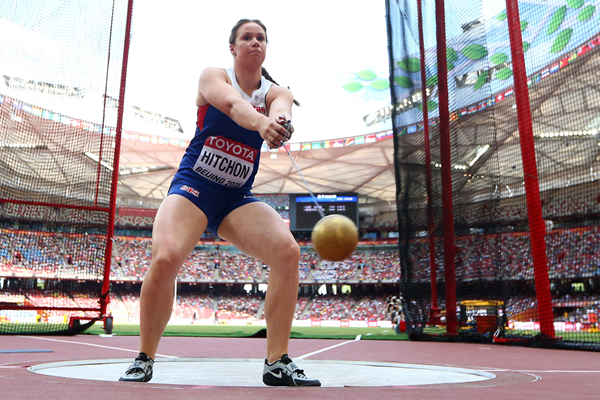 Sophie Hitchon in the hammer at the IAAF World Championships Beijing 2015 (Getty Images)