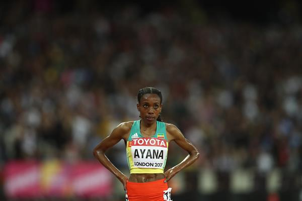 Almaz Ayana at the IAAF World Championships London 2017 (Getty Images)