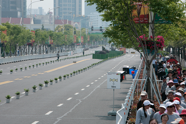 The course for the IAAF World Race Walking Team Championships in Taicang (Getty Images)