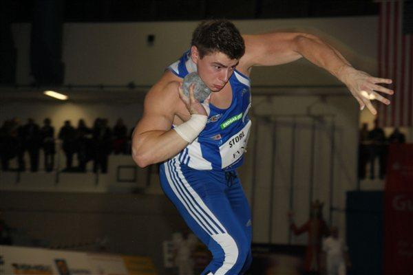 David Storl debuts with a 21.24m victory in Nordhausen (Sylvia Spehr)