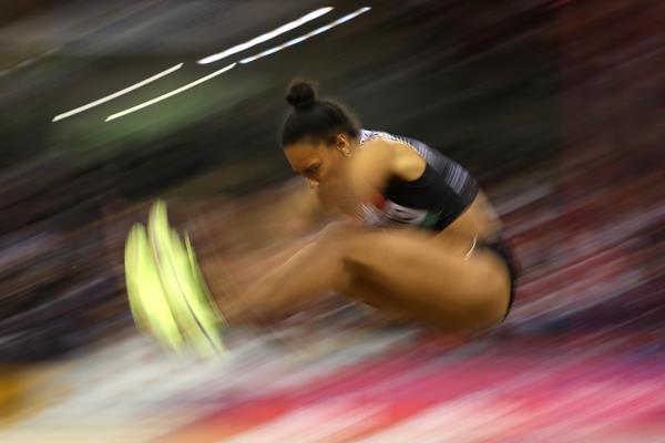 Italian long jumper Larissa Iapichino (Getty Images)