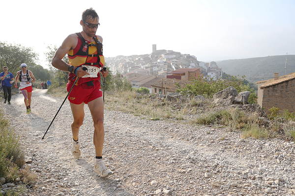 Luis Alberto Hernando in action at the Trail World Championships in Castellon (Jean-Pierre Durand)